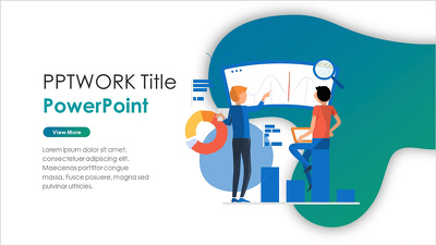 Design a professional powerpoint template/ Pitch deck