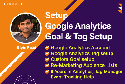 Setup google analytics tag on your website and store