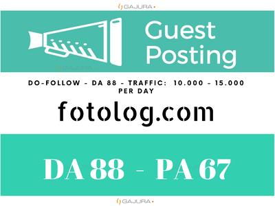 Provide Guest Post on Fotolog - Fotolog.com DA 88 PA 67