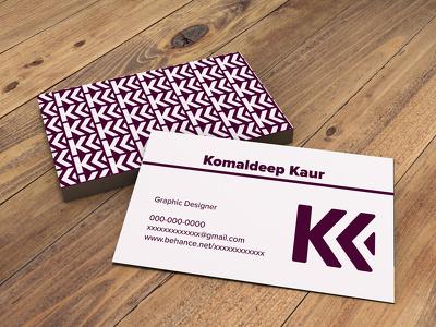 Design business card.