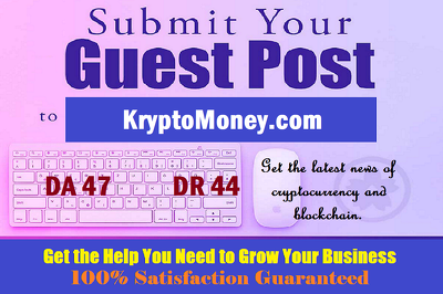 Place a guest post on KryptoMoney.com with Nofollow