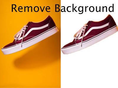 Background removal any 50 photo and e- commerce site photo