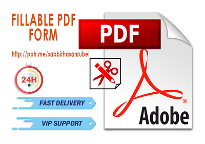 Create PDF Fillable Form | Interactive PDF | PDF Form