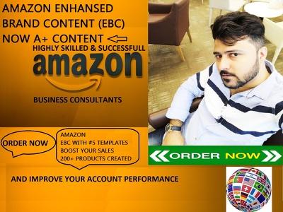 Create Enhanced Brand Content,EBC A+ CONTENT