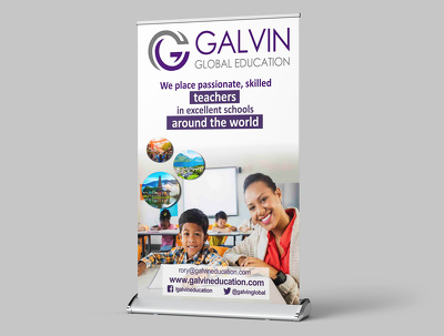 Roller Banner or Pop-up Stand