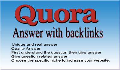 Unlimited niche relevant targeted quora traffic for your website