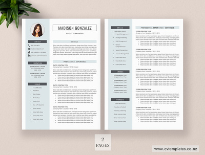 Create or edit Resumes, CVs, and cover letters