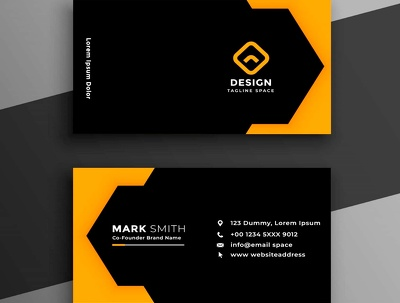 Design a world class business cards for your company.