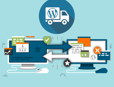 Move your wordpress website from one server to another