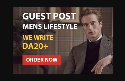 Write and publish guest post on 2 mens lifestyle blog DA25