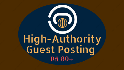Write and Publish 3 High-Authority Guest Post Services