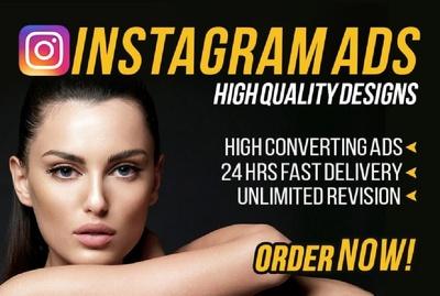 Design Engaging Instagram Promotion Ads Images