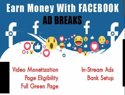 Make Facebook ad breaks setup