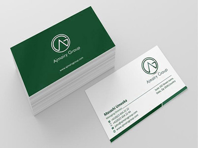 Design business card, stationery, folder file and id card