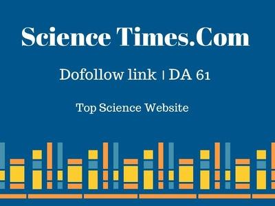 Publish Guest Post at Science Times.com -DA 61- Dofollow link