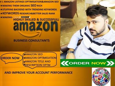 Optimise 4 Amazon Listings With Amazon Seo & Keyword Research