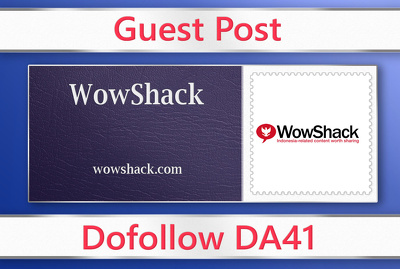 Guest post on WowShack - wowshack.com - DA41