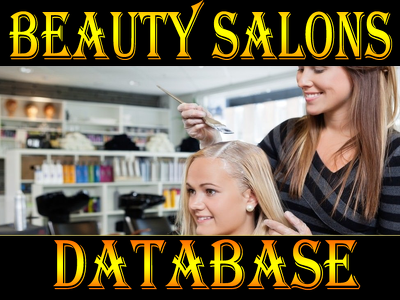 Give you UK BEAUTY SALONS DATABASE 2020 (Total contacts 3000 )