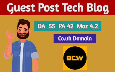 Guest post on tech blog  businesscomputingworld da54 pa41