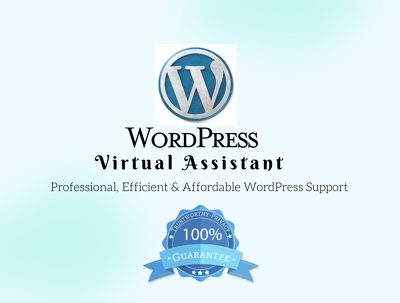 Be Your WordPress Virtual Assistant for 2 Days