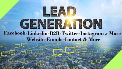 Generate Business Leads Scrape Collect Emails URL CEO, CO, CFO