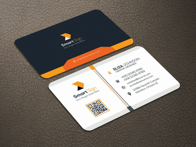 Do professional and modern business card design in few hours
