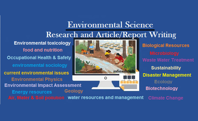 Write 1000 words articles related to environmental science