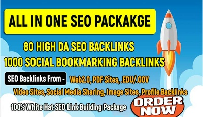All in One Link Building SEO Package 2020
