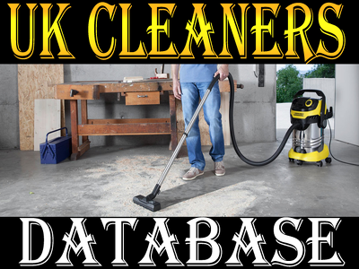 Give you UK CLEANERS DATABASE 2020 (Total 3000 contacts)