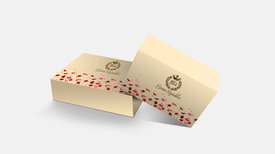 Attractive & Elegant 3D Box Design :)