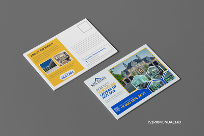 Design real estate flyer, brochure, trifold, yard sign, postcard