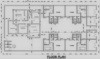 Design beautiful architectural and structural floor plans