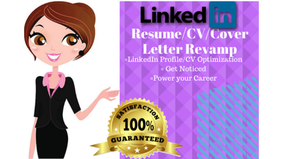 Professionally rewrite your CV/Resume or Cover Letter
