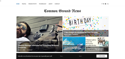 Publish Guest Post On CommonGroundNews.org