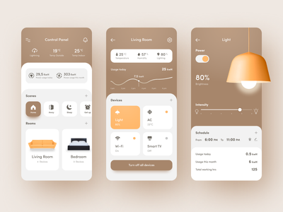 Deliver standard UI design for android or IOS native apps.