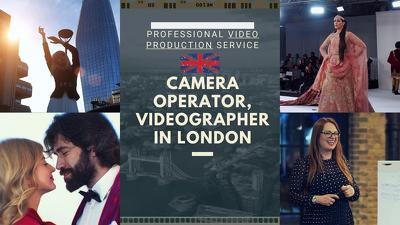 film & edit your business,event, portfolio, vlog video in London
