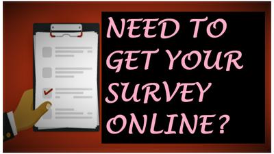 Set up a Quick Online Survey Form for you