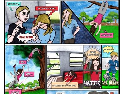 Illustrate comic book