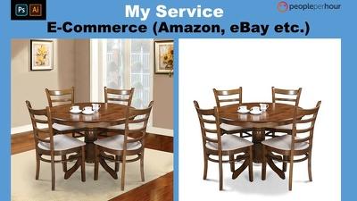 Do Photoshopping Of 40 Images For E-commerce (Amazon,eBay etc.)