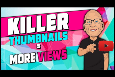 create awesome Youtube thumbnail to get more views/subscribers