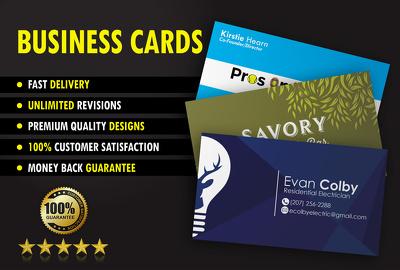 Design you an amazing & unique print ready business card