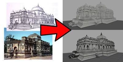 3D model your building or reference in real details