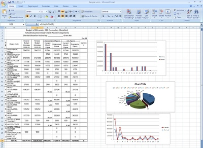 Do Microsoft excel macros, excel VBA, excel formula, Graphs