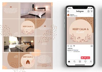 Custom design 6  unique Instagram post