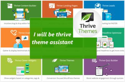 Design a responsive wordpress website using thrive architect