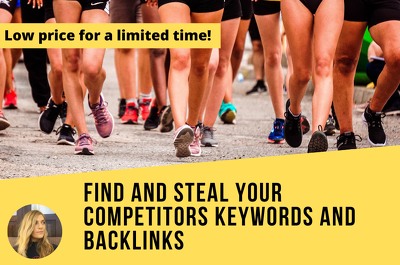 Competitor backlink and keyword research for SEO and PPC