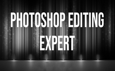 Be your photoshop editor any work