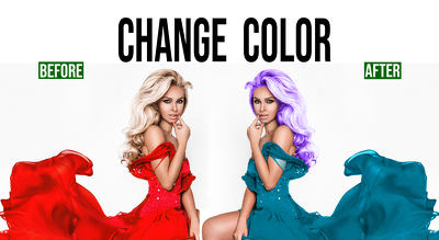 Change color of anything, change logo color correction