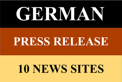 5 Press release on german news domain