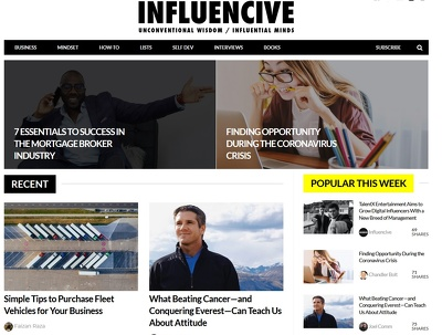 Guest Post on Premium Publication - Influencive.com
